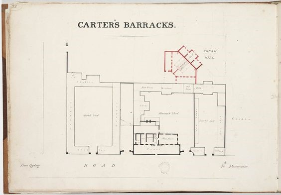 Carters Barracks Layout