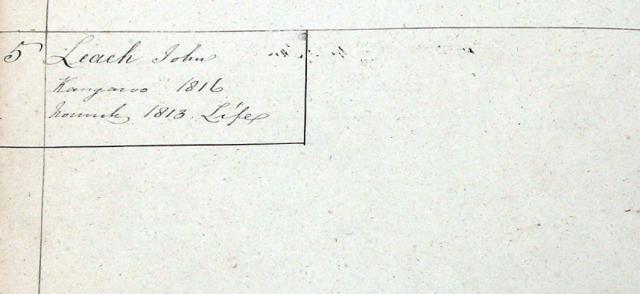 John Leech Conduct Register