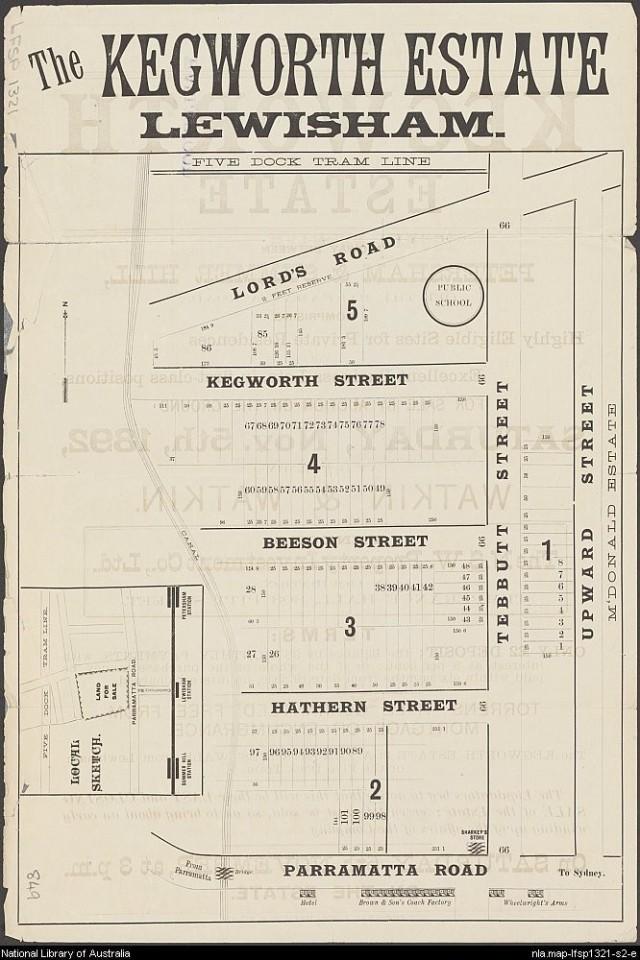 Kegworth Estate - Street Map